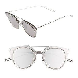 Dior Composit 1.0 Silver Sunglasses